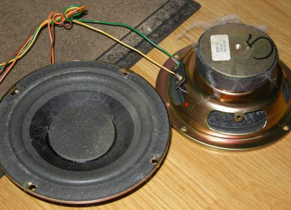 Bose Woofer Speakers Replacement Parts Guide - What\u0027s Inside