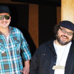 Baby Cake's Kevin Chryst (left) and Staxx Brothers' David Stedman (right). PHOTO BY SARAH VAN HOUTEN