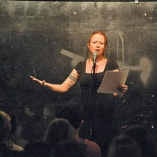 PERFORMANCE: See poet Jeanann Verlee at the Skagit River Poetry Festival from May 19-22 in La Conner. For more information, follow the Festival's Facebook page or visit www.skagitriverpoetry.org. Photo by Marshall Goff