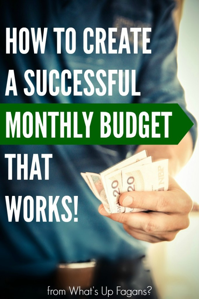Create a Successful Monthly Budget that Works {FREE Excel - help me budget my money for free