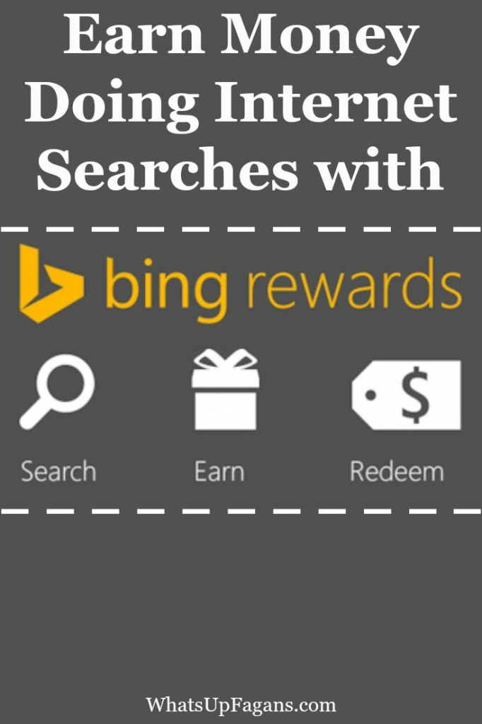 How to Earn Money Searching the Internet with Bing Rewards