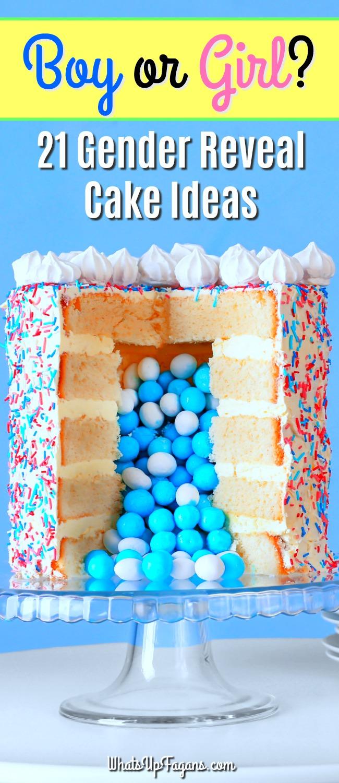 Fullsize Of Gender Reveal Cake Ideas