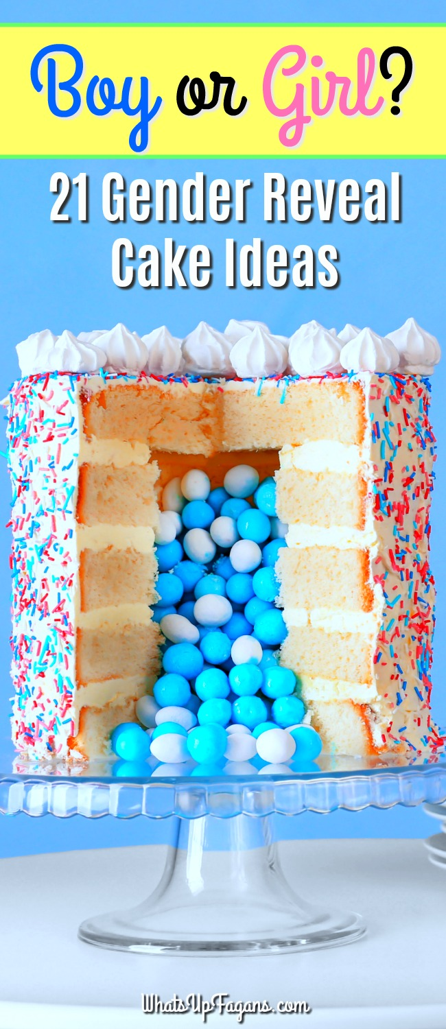 Sleek Gender Reveal Cake Ideas Gender Reveal Party Cake Ideas Thanksgiving Gender Reveal Cake Ideas One Boy Or Girl Him Or Her He Or She Gender Reveal Party Boy Or Find Out