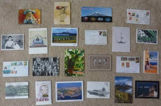 postcard wall, Postcard Gallery Wall