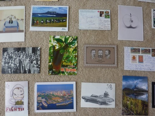 postcard gallery, Postcard Gallery Wall