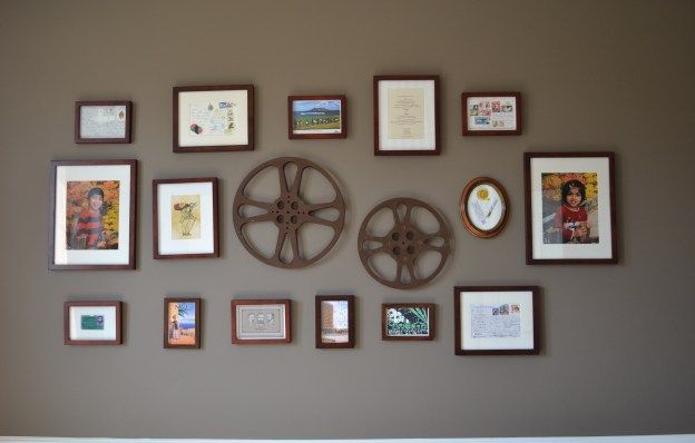 gallery wall, photo wall gallery