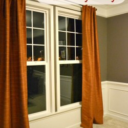 hemming curtains the lazy way