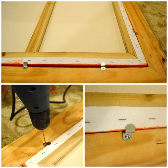 how to frame a canvas, Frame a Canvas Painting