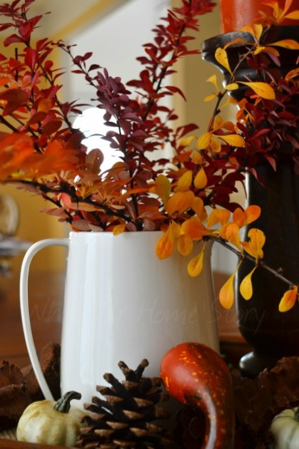 Whats Ur Home Story: Thanksgiving Decorations, Harvest decor