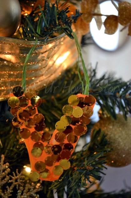 Whats Ur Home Story: DIY Alphabet Ornament,  Alphabet Ornaments