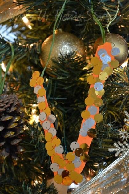 Whats Ur Home Story: Alphabet Ornaments