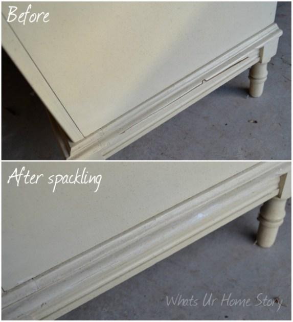 Chalk Paint Dresser Makeover