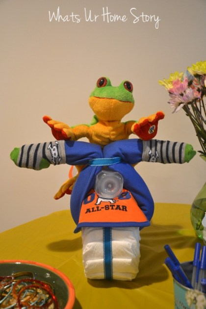 Whats Ur Home Story: Diaper motor cycle