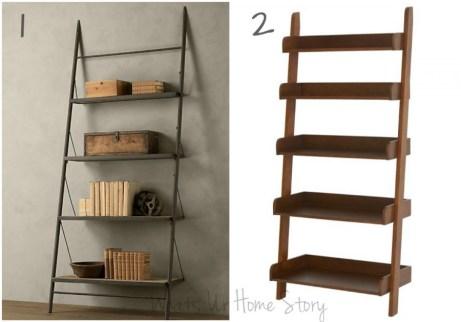 heavy duty ladder shelf