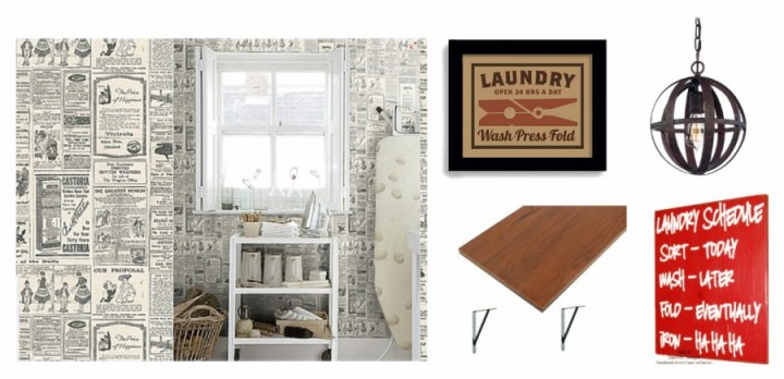 Whats Ur Home Story: Transitional Laundry Room Mood Board