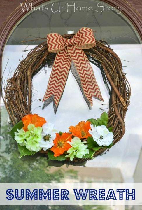 summer wreath diy - Whats Ur Home Story