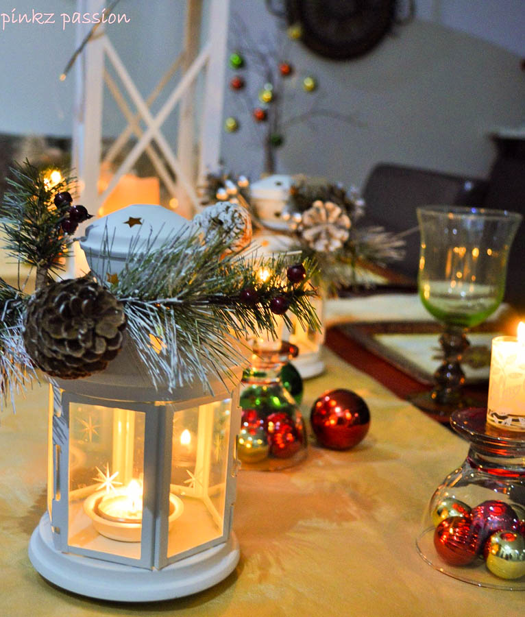 Holiday Home Tour - Christmas tablescape