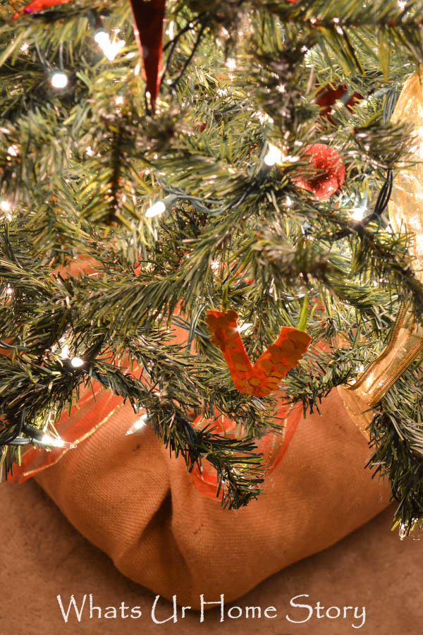faux root ball tree skirt