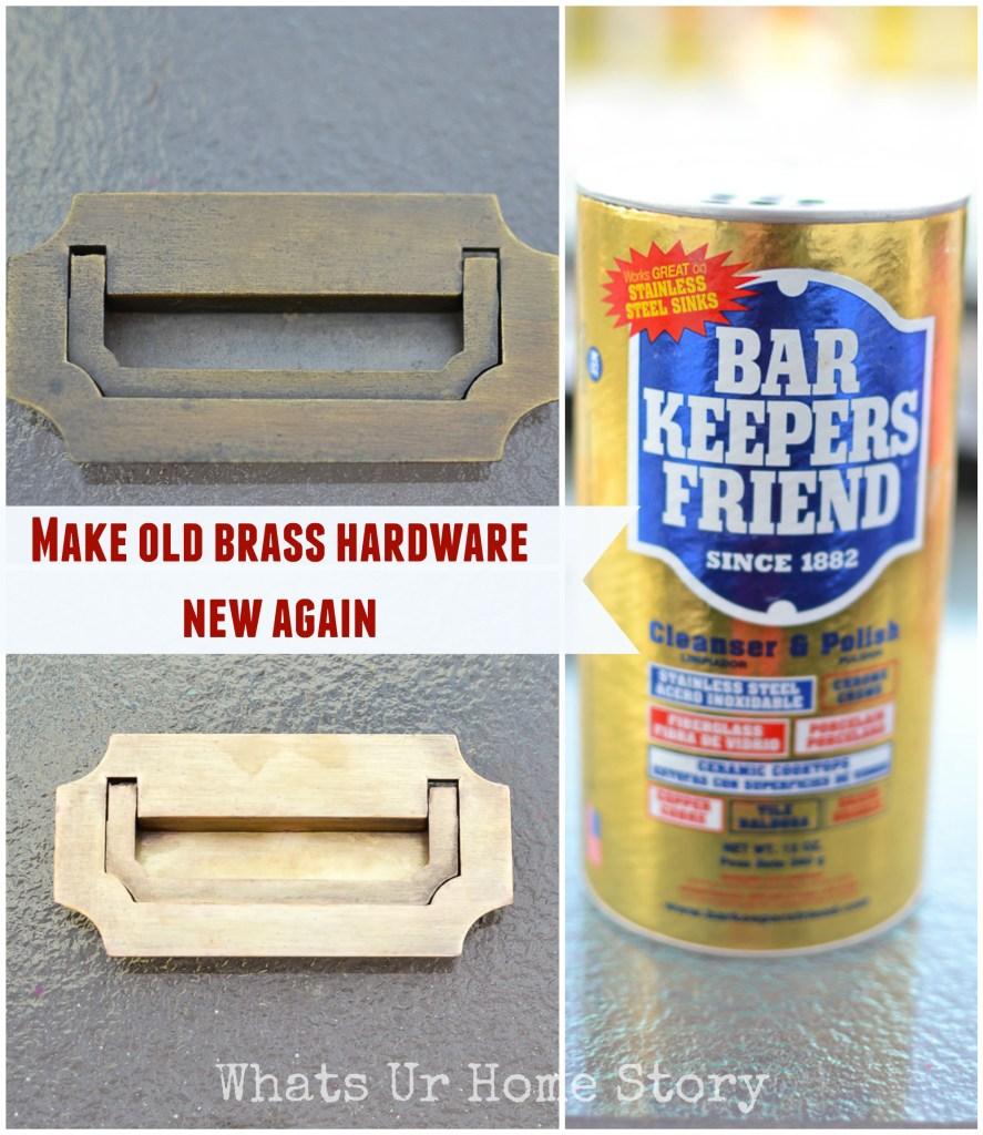 Best way to polish brass hardware