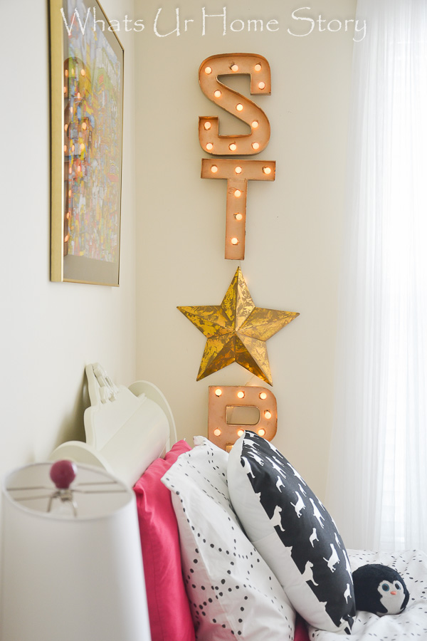DIY STAR Marquee sign