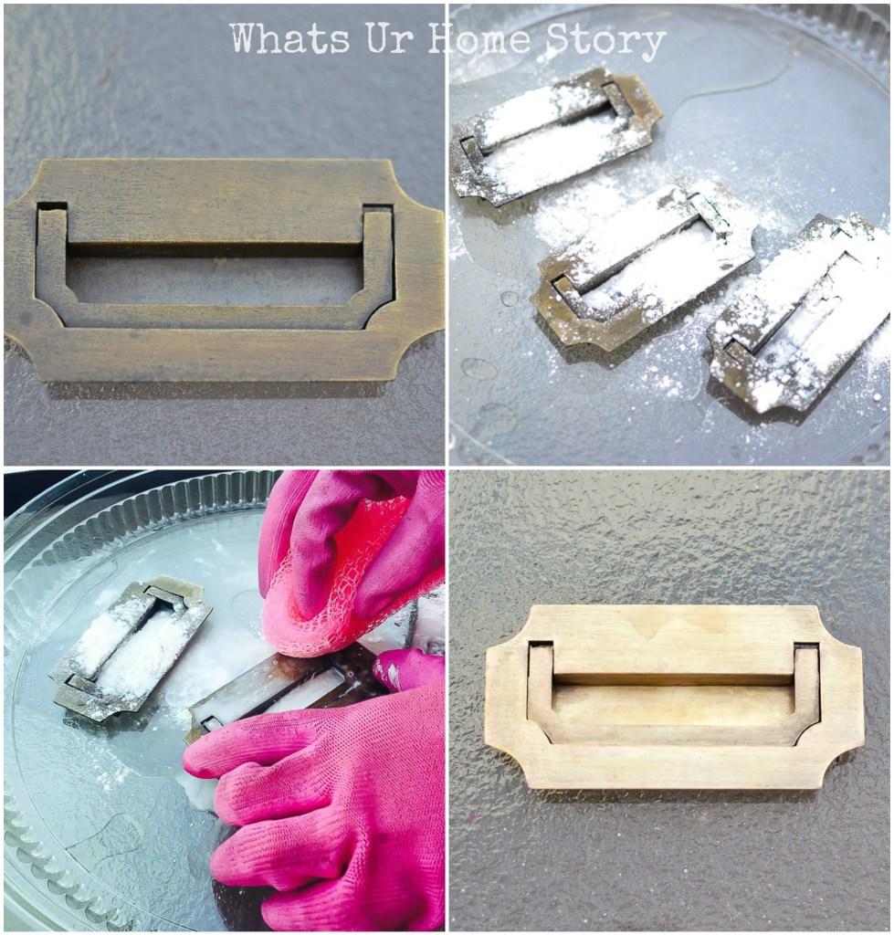 How to polish brass hardware