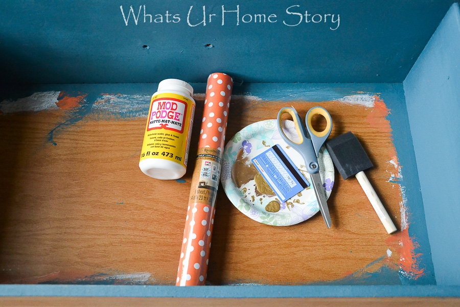 How to Add Liners to Dresser Drawers