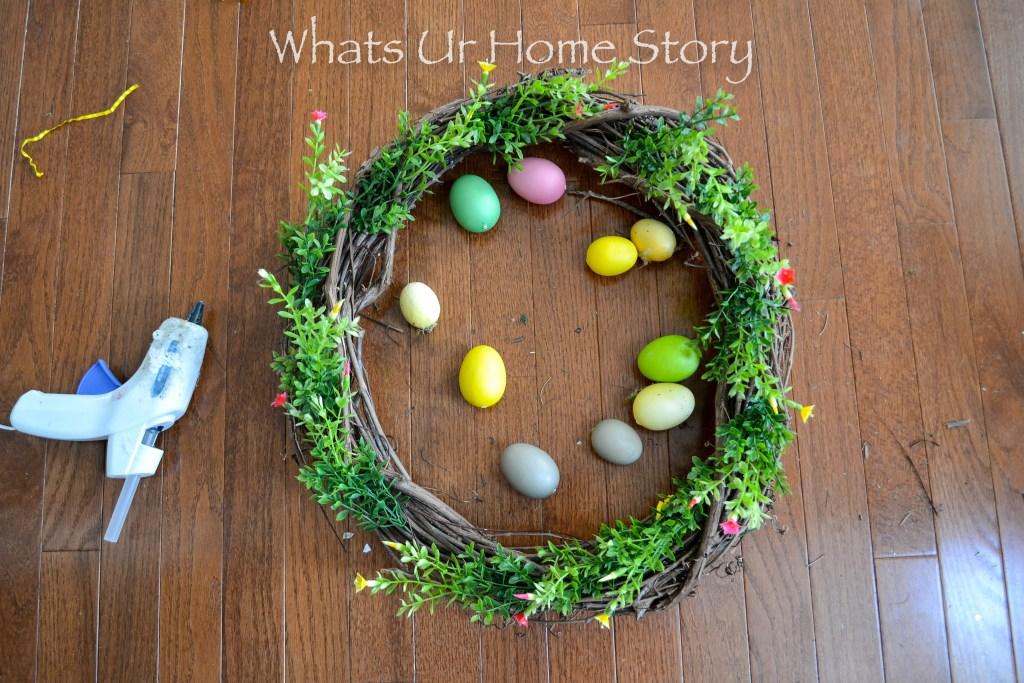 Spring Egg Wreath Tutorial