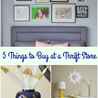 5 Things to Buy at a Thrift Store