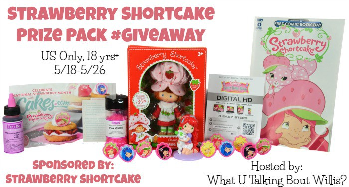 strawberry shortcake prize pack