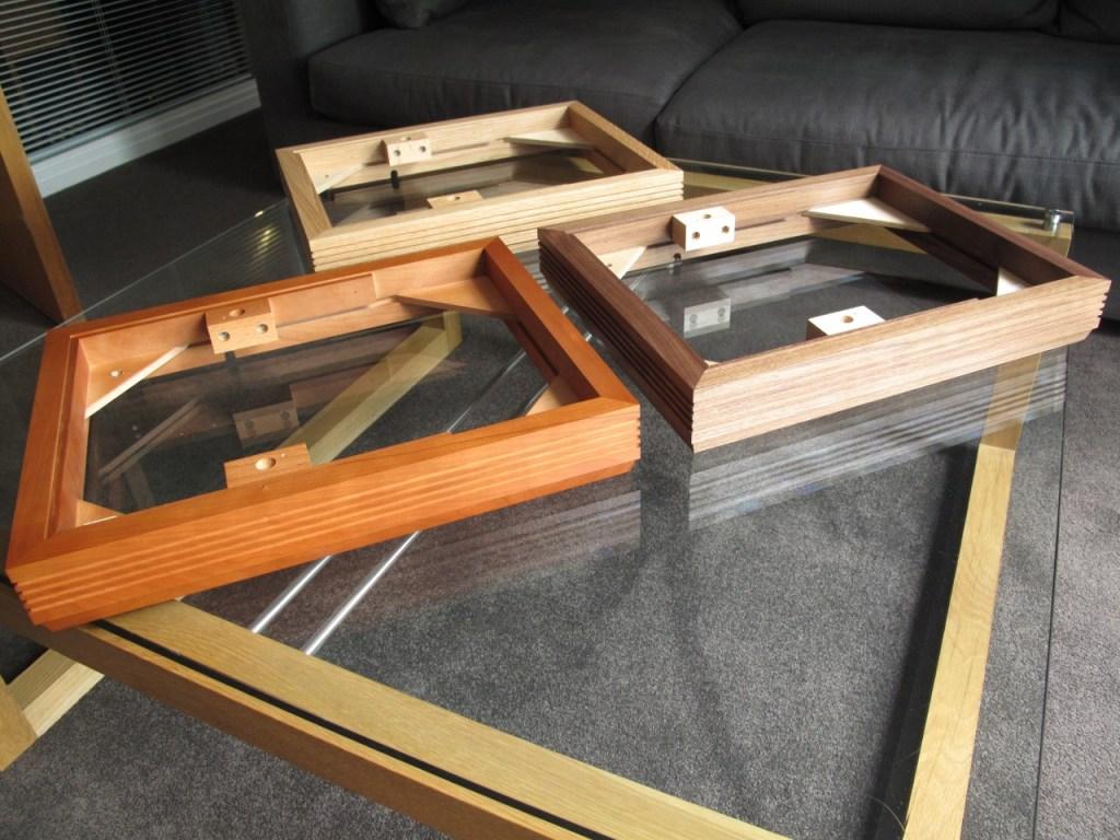 fluted plinths