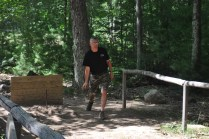 Old Goats Play Horseshoes