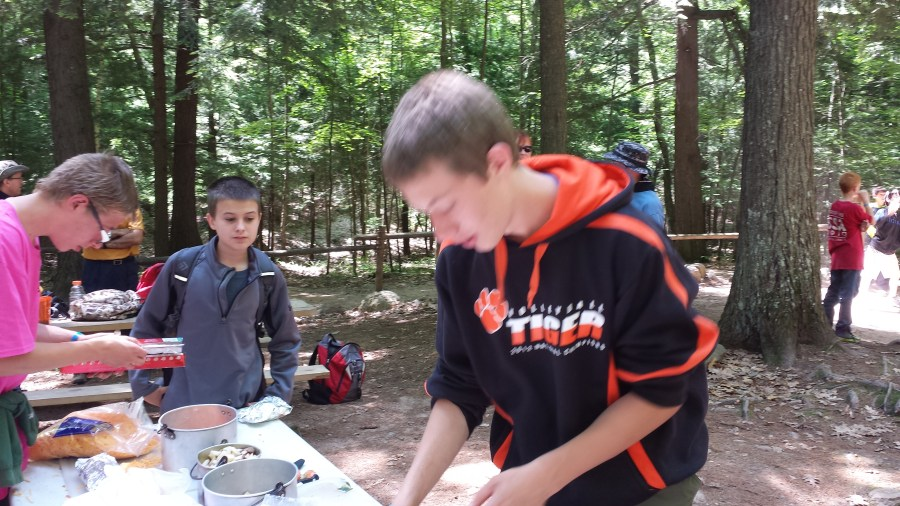 Mark skipping mess hall to cook