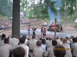 Order of the Arrow Call out Ceremony