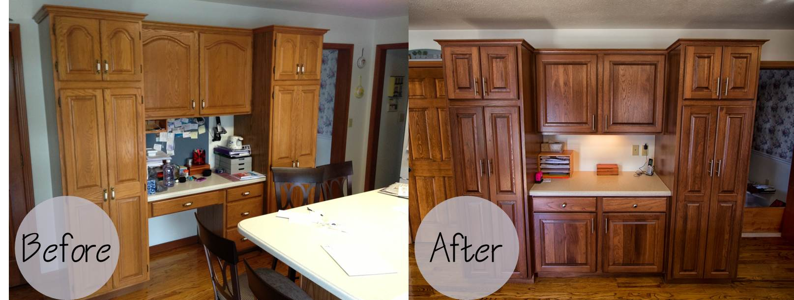 Cabinet refacing wheeler brothers construction
