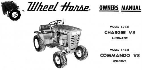 wheel horse commando 8 wiring diagram