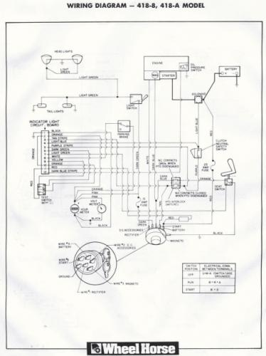 wiring schematic wheel horse electrical redsquare wheel horse