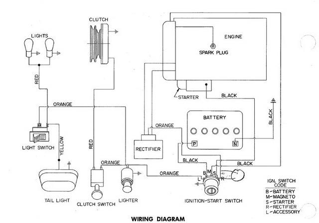wheel horse b100 wiring diagram