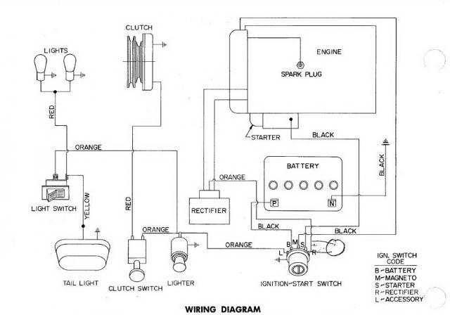 need wire diagram for charger 12 electro wheel horse electrical
