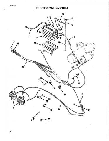 wheel horse ignition switch wiring diagram wheel horse tractor