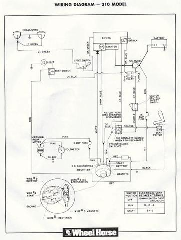 8 wheel horse wiring diagram
