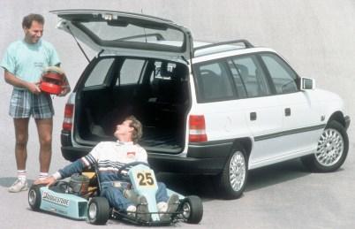 Aus Kadett wird Astra: Opel Astra F Caravan (1991–1998)