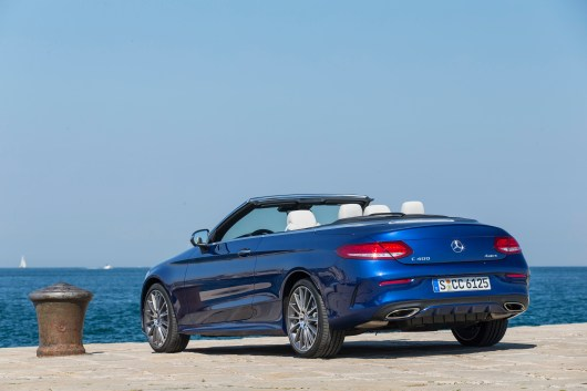 Mercedes-Benz C-Klasse Cabriolet (A205), Press Test Drive Trieste 2016