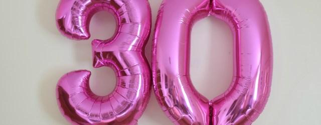 30 Things I've Leant In 30 Years