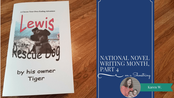 National Novel Writing Month, Part 4
