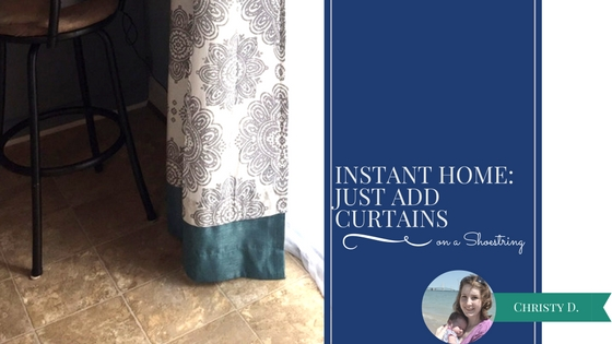 Instant Home: Just Add Curtains