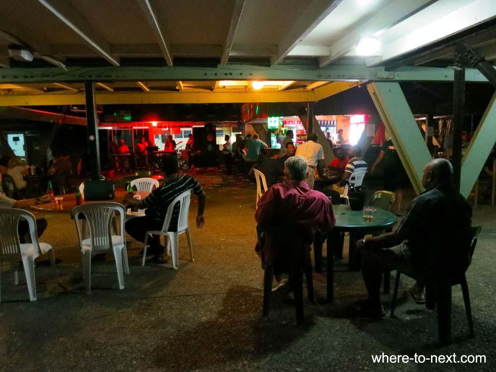Indian Restaurant at Yacht Club Honiara
