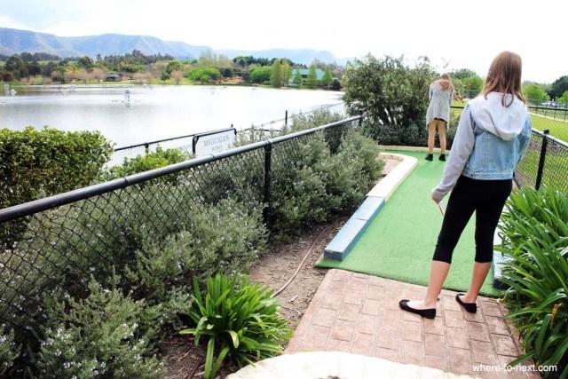 Mini Golf at Hunter Valley
