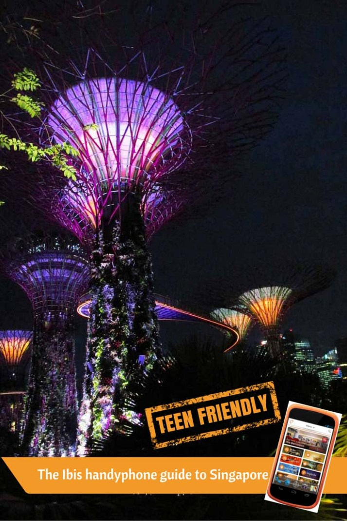Singapore for teens with the Ibis on Bencoolen handyphone