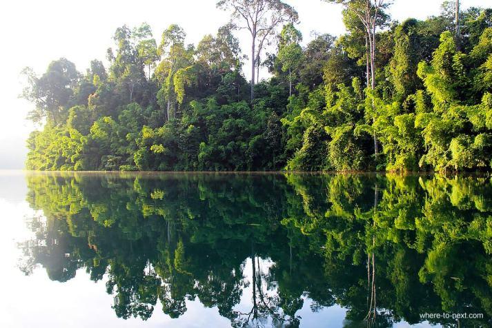 Cheawlan Lake, Khao Sok, Thailand