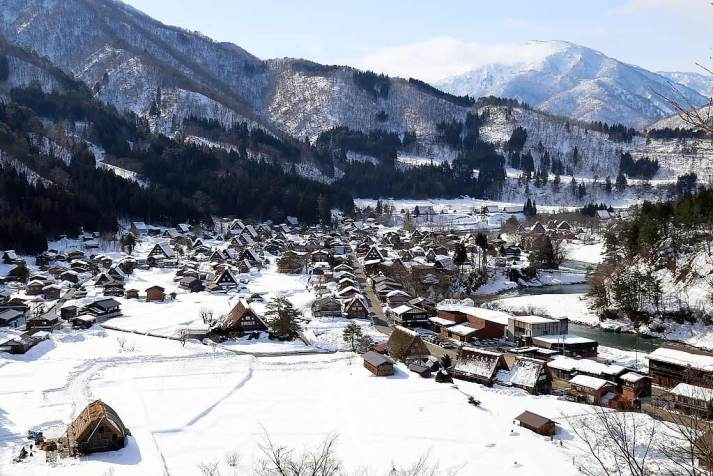 Hidden village of Shirakawa-Go